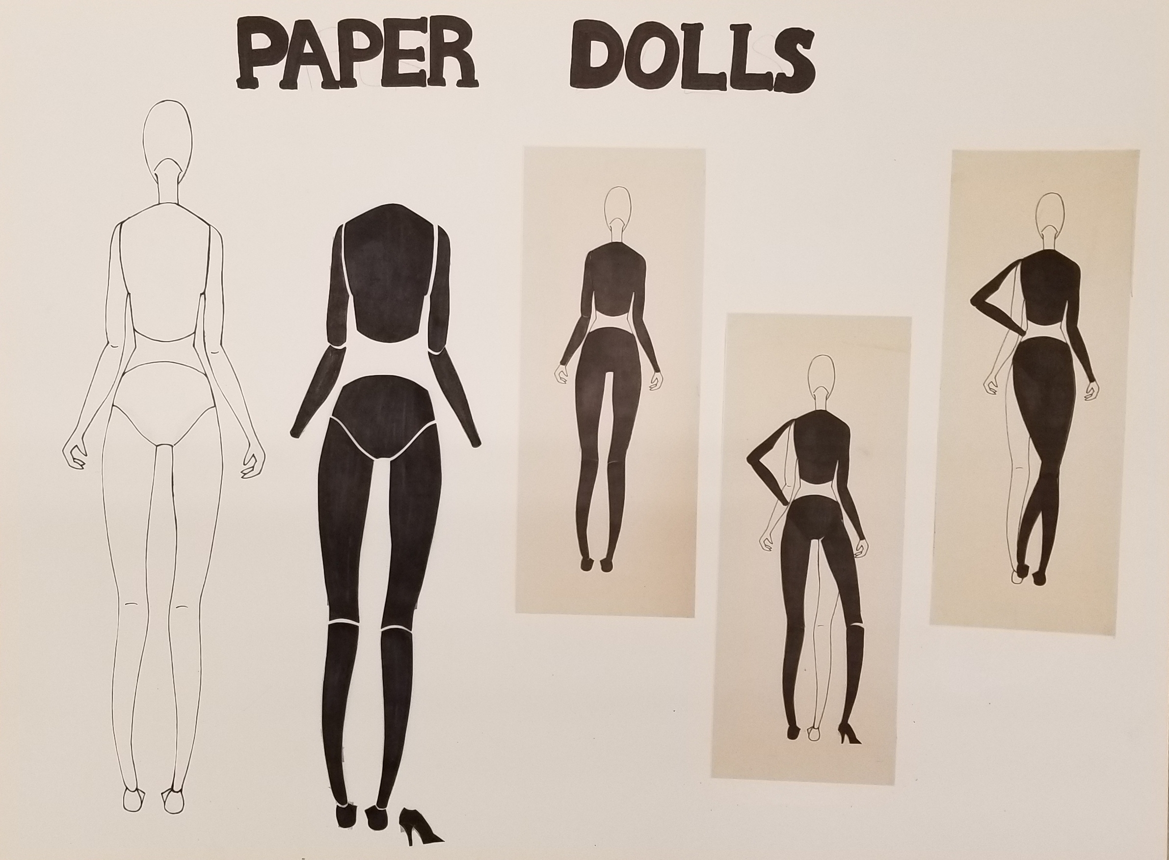 Due 02/13/18 Paper Dolls-  Back View