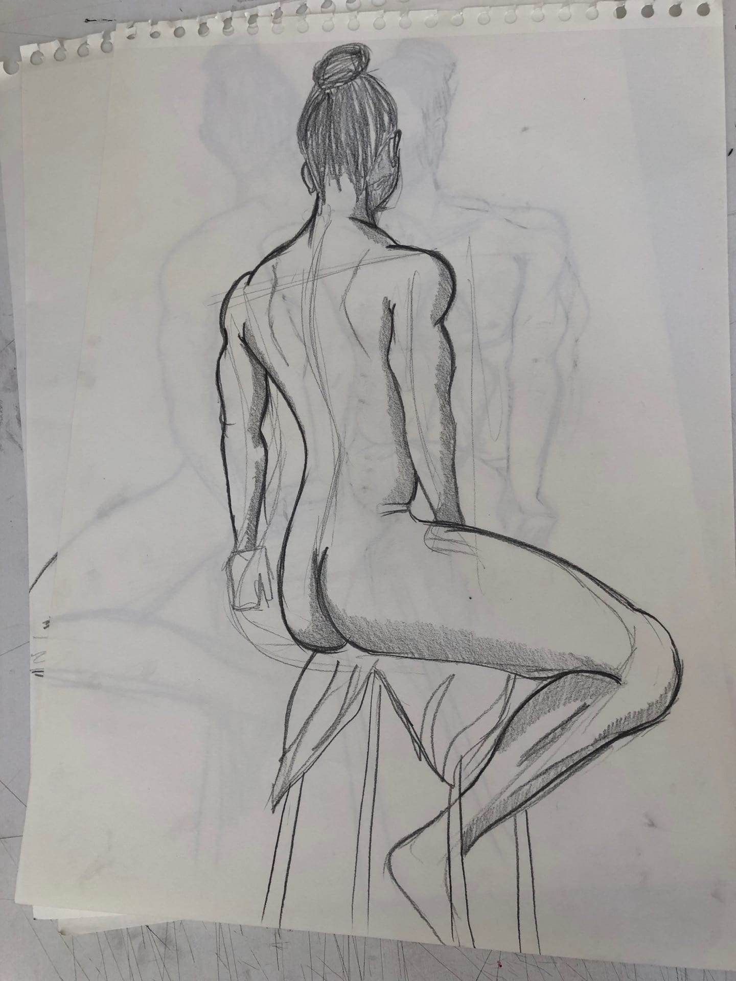 drawing session – nude 4