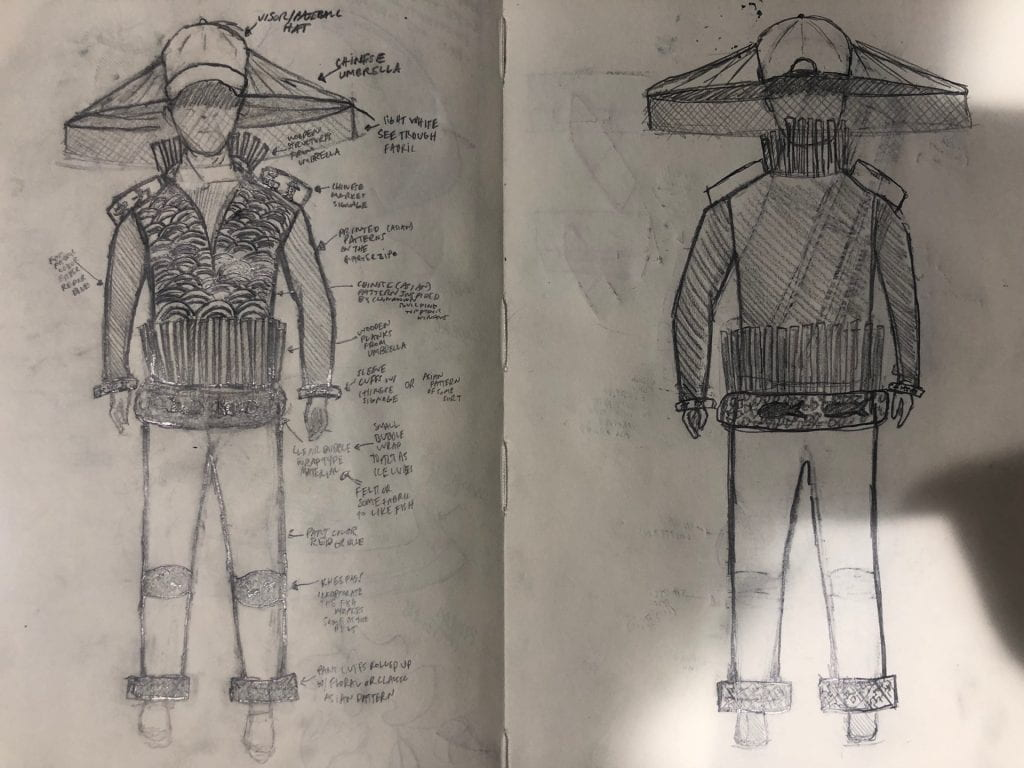 Concept Sketches (with Revised Concept Paragraph)
