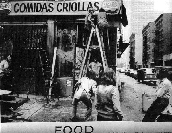 Gordon Matta-Clark – FOOD