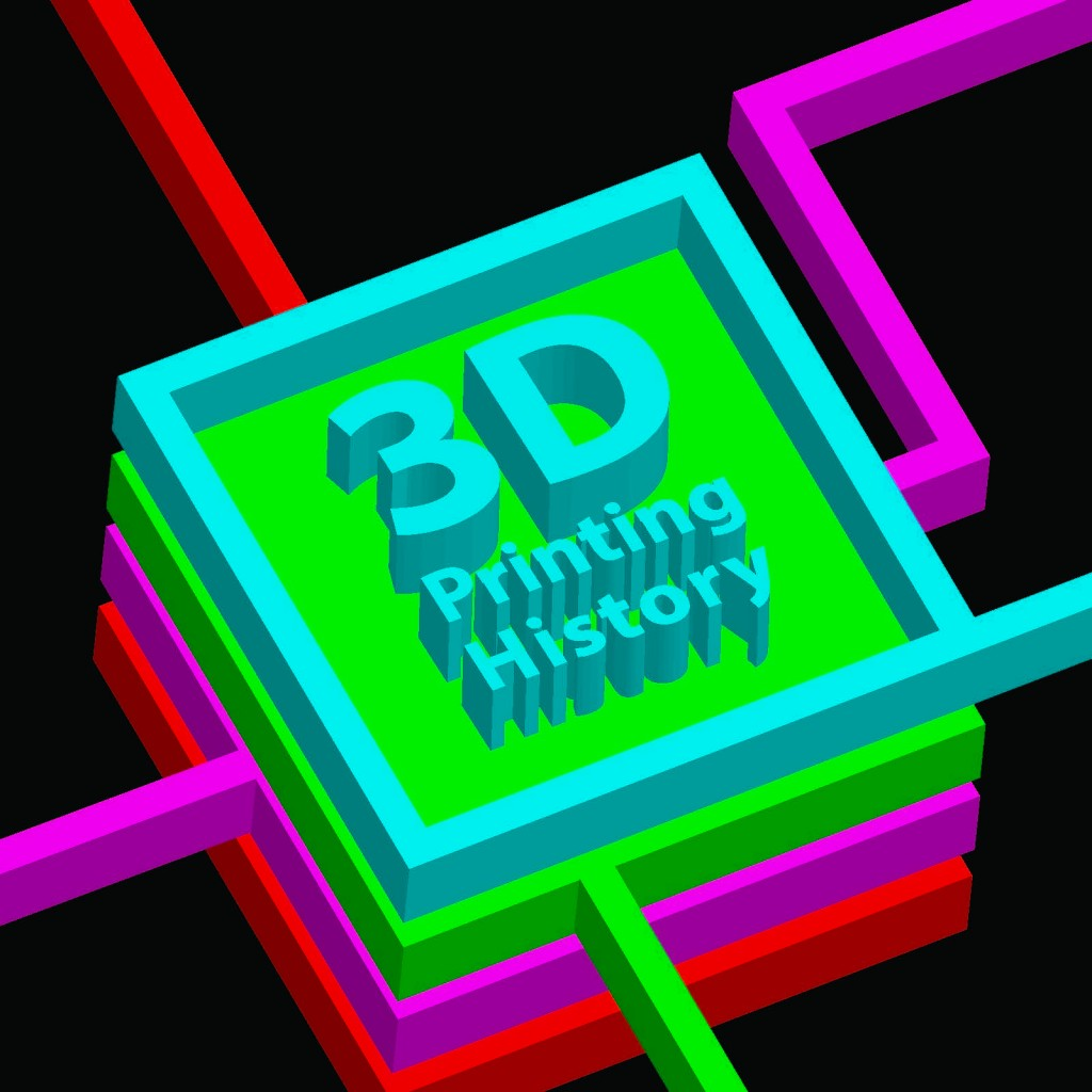Breif 3D Printing History Booklet