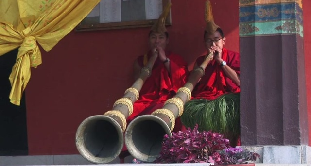 Tibet – Culte au Monatere Nyingmapa de Rewalsar