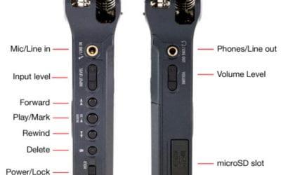 Zoom H1 recorder tutorial