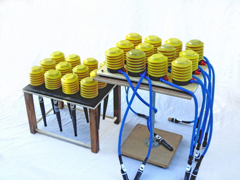 Experimental Musical Instruments by Bart Hopkin