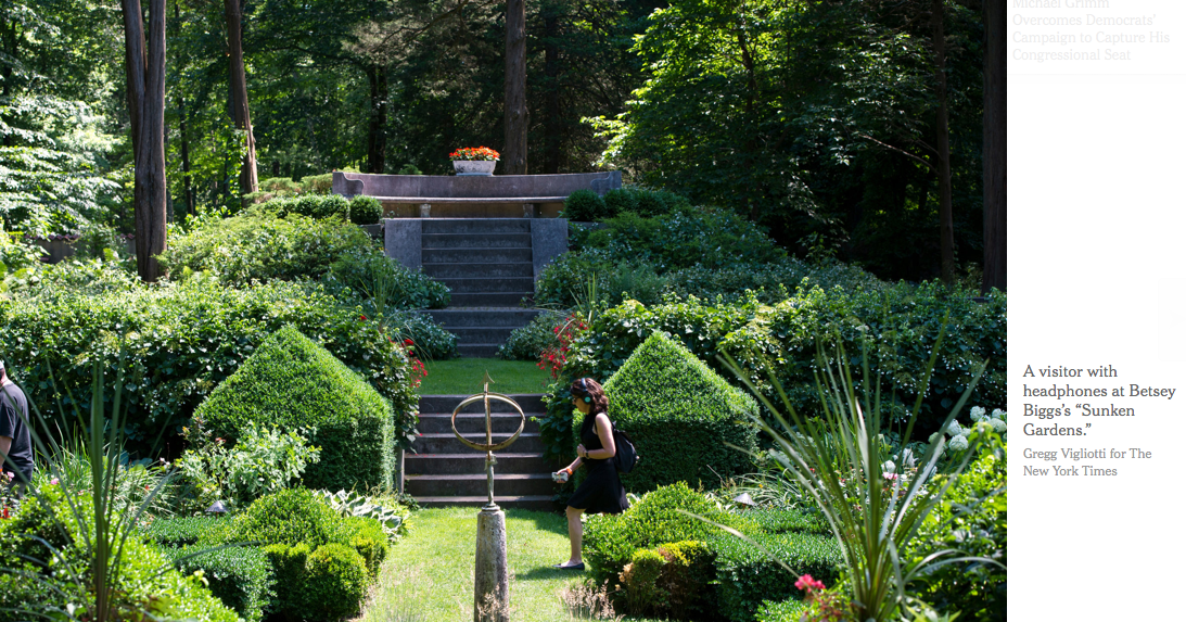 In The Garden of Sonic Delights – NY Times