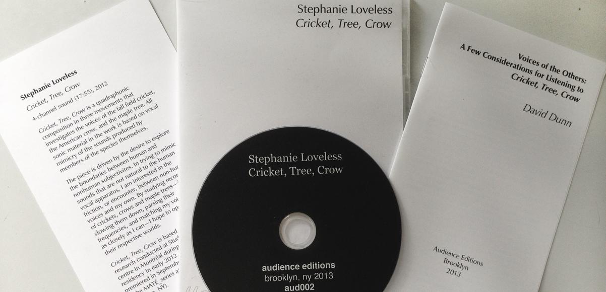 Stephanie Loveless – Cricket, Tree, Crow