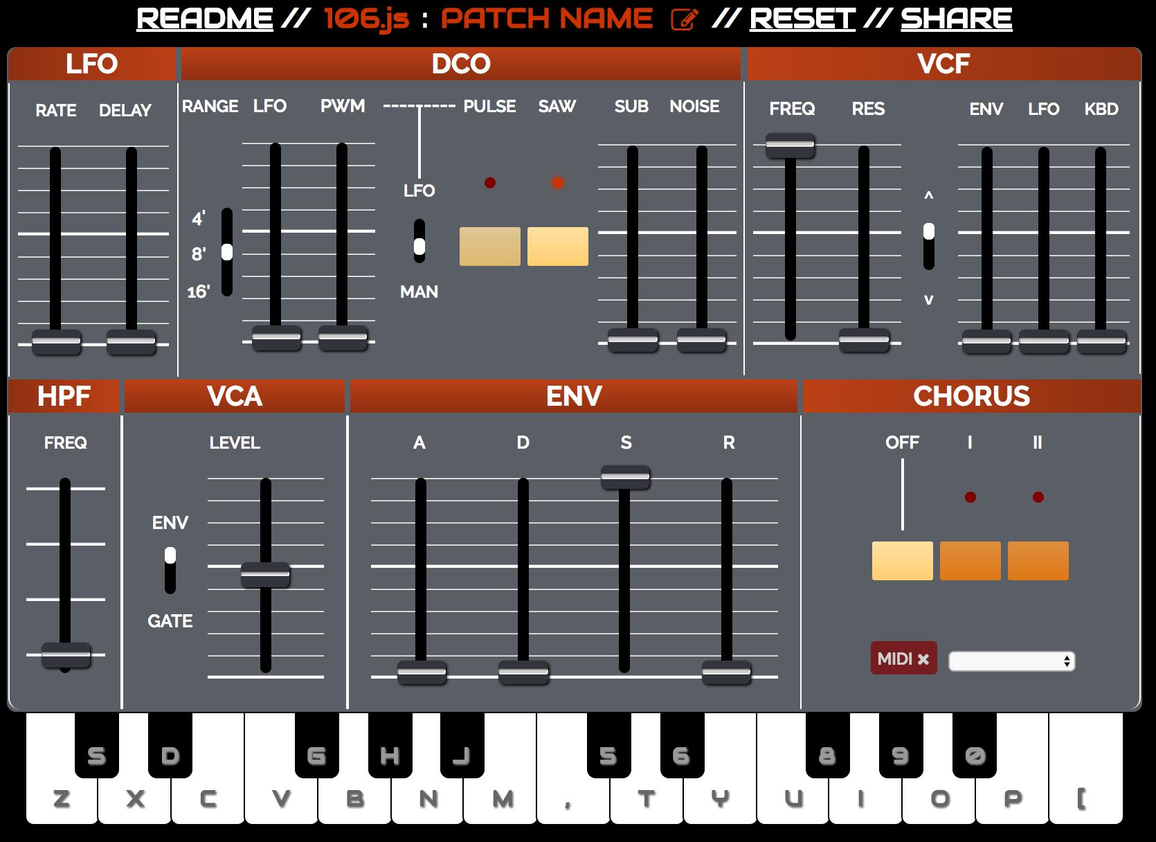 Sound creation tools