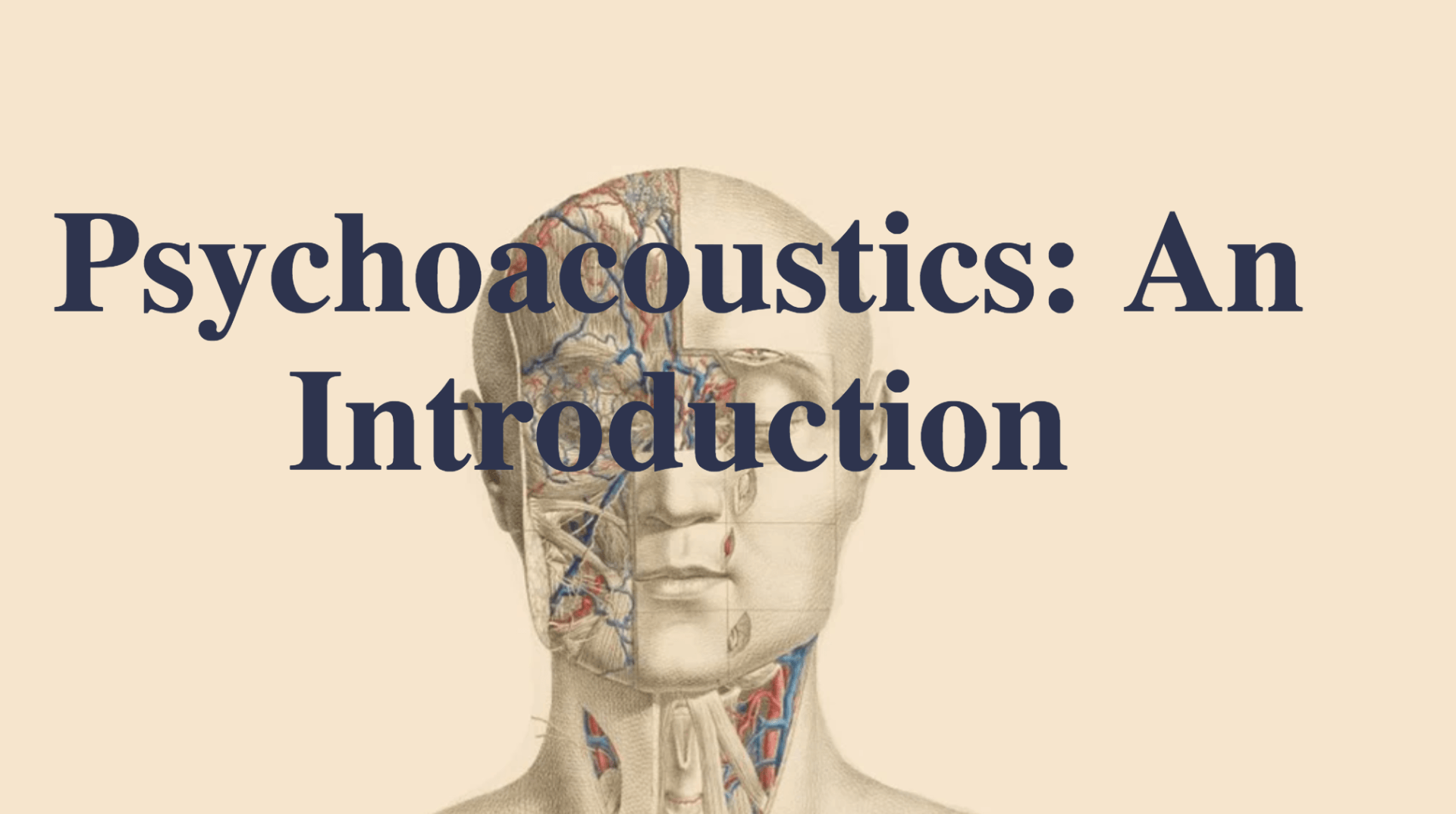 Psychoacoustics – An Introduction