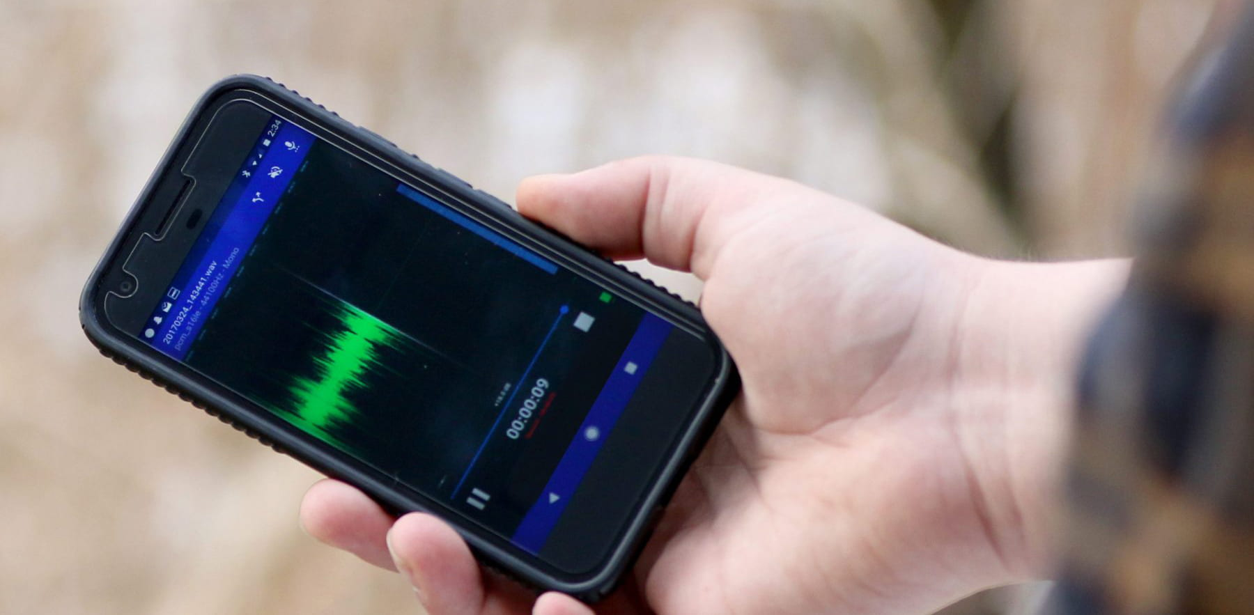 A recorder in your pocket – using your phone to record sound