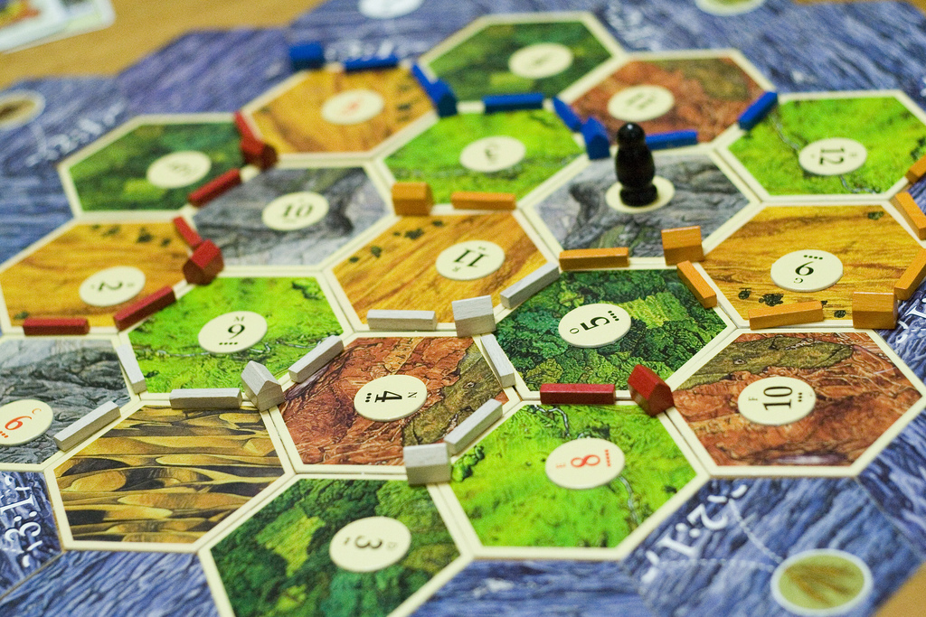 Settlers of Catan and Dominion