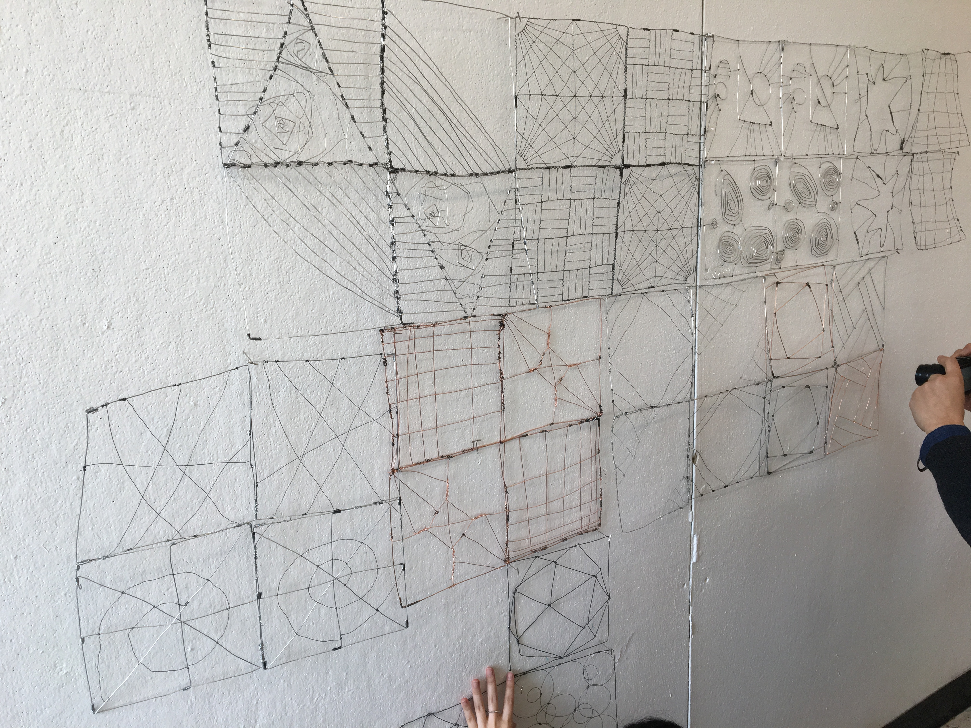 Space and Materiality: Wire (1st project)