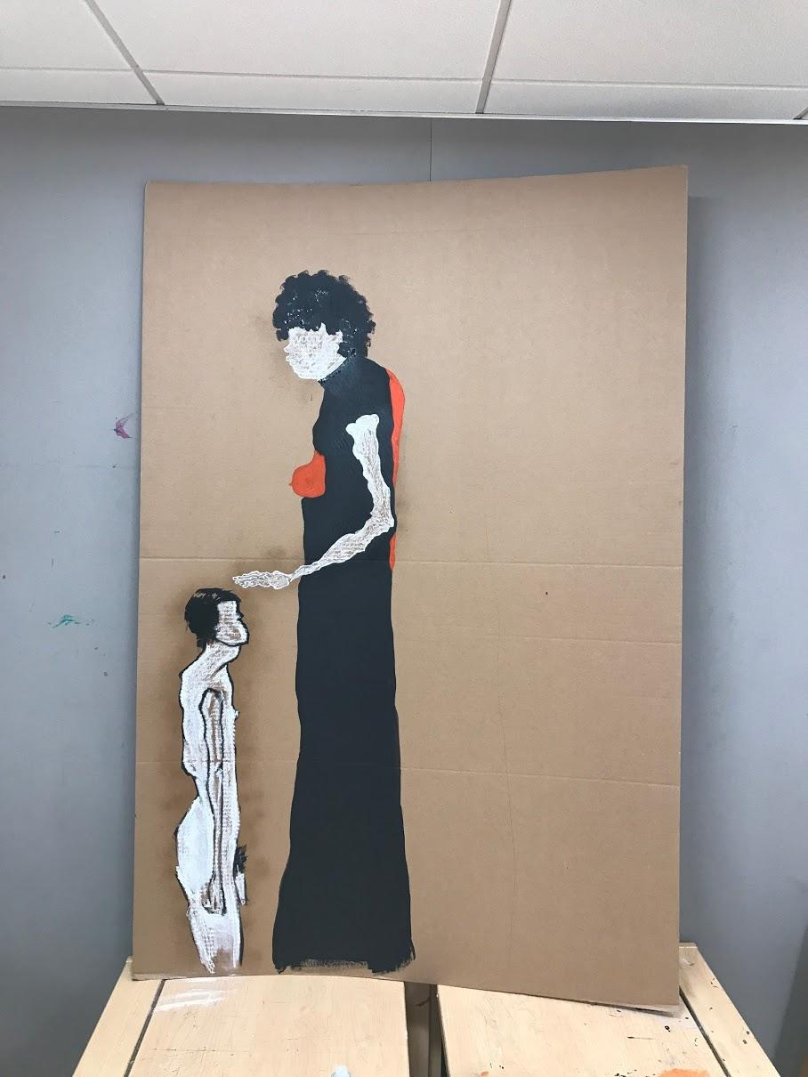 Integrative Studio 1- Shift: Bridge 2: composite self portrait