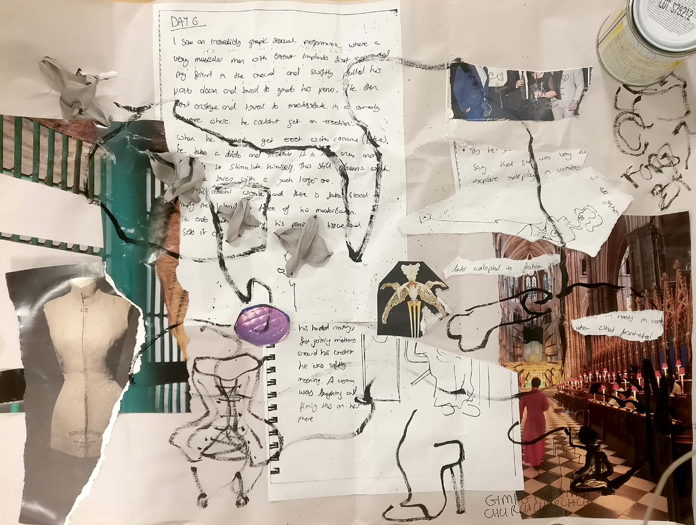 Visual essay collage