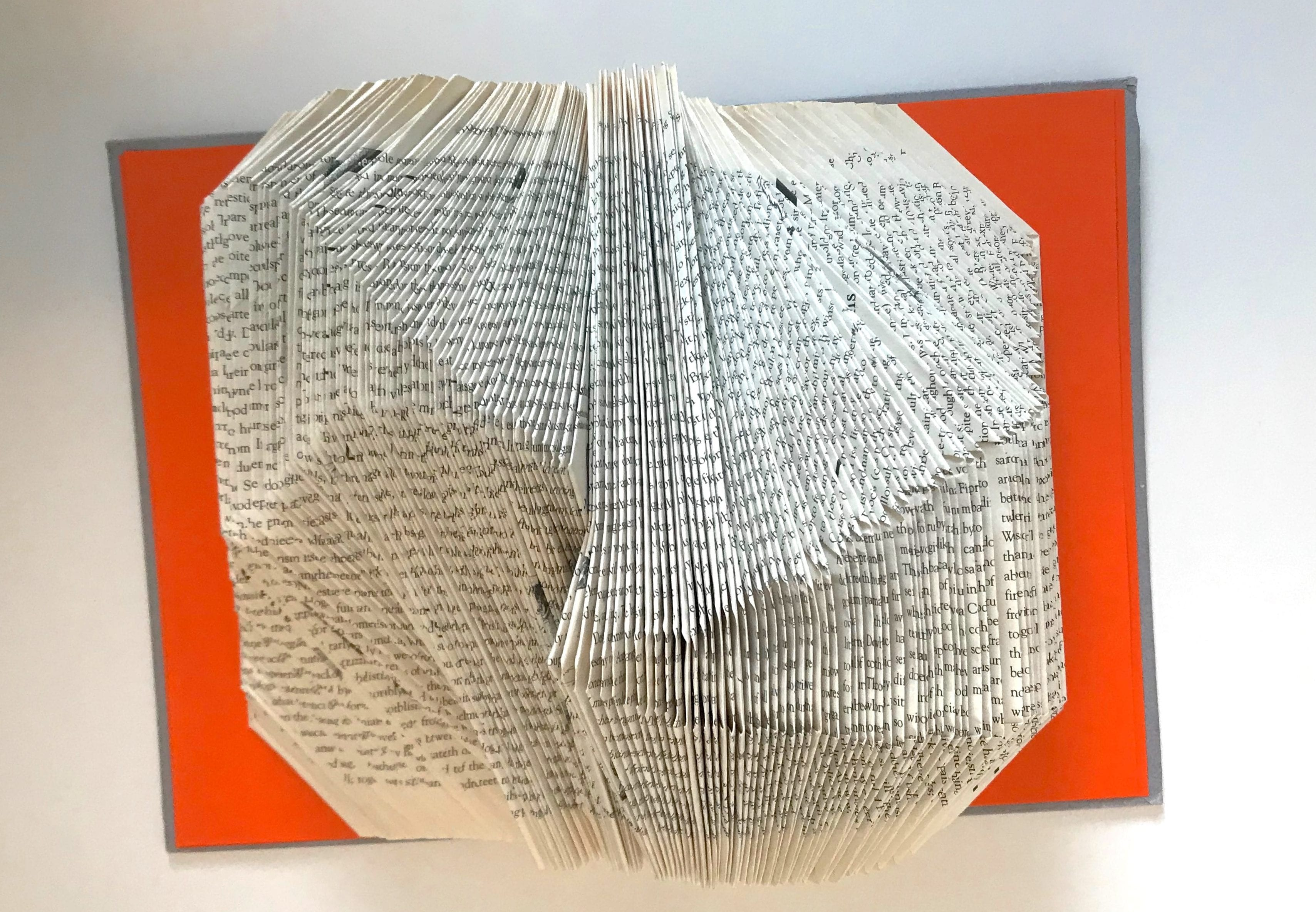Book Art Bridge Project#1