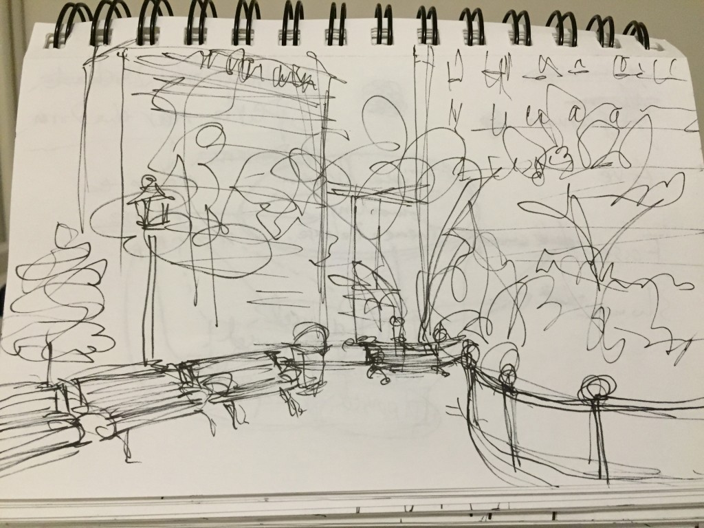 quick sketch of the Stuyvesant Square