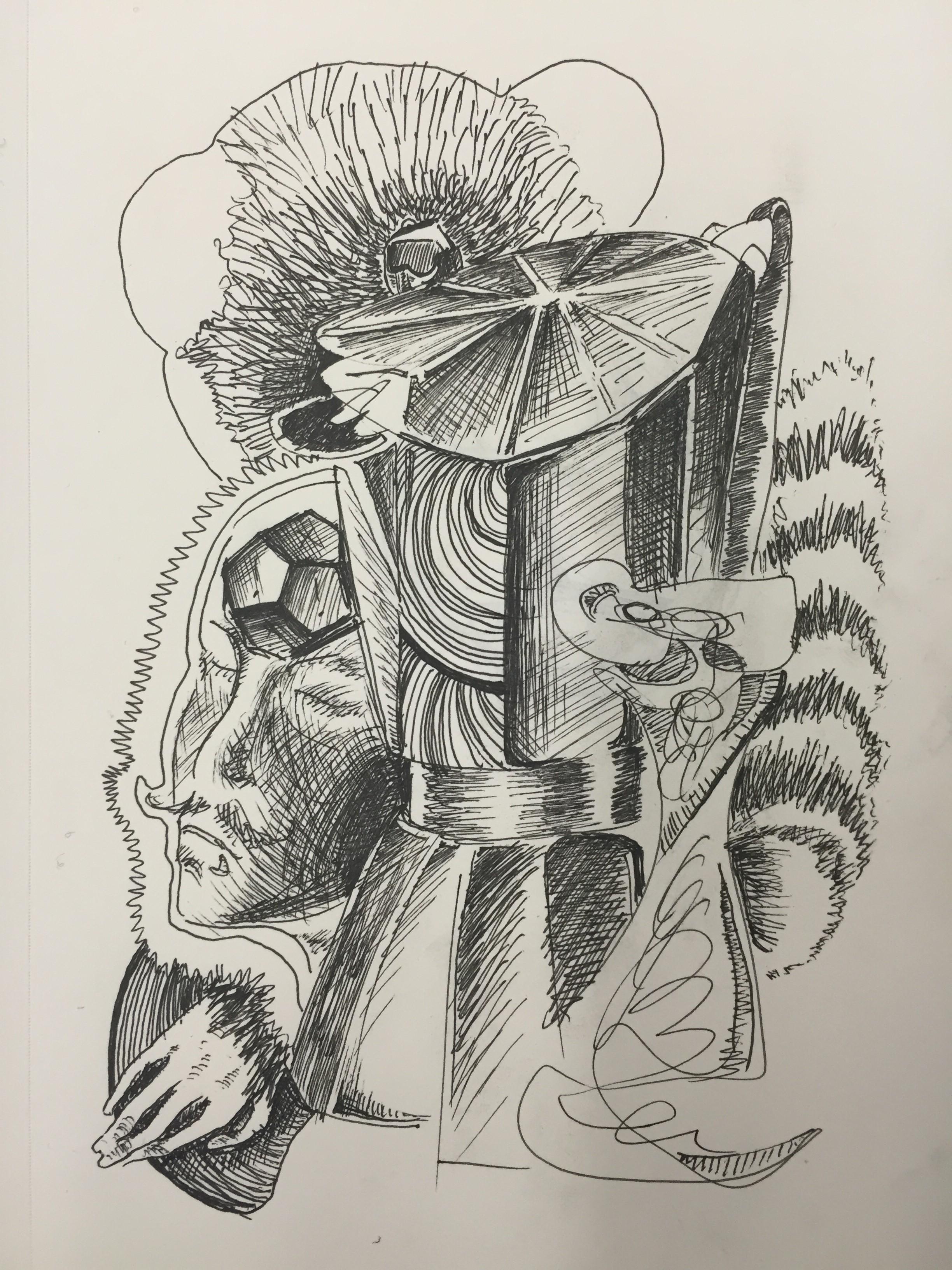 Integrative Studio: +Plectic Still-Life Drawing