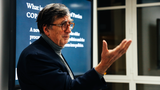 PARSONS PARIS COMMITMENT TO CLIMATE CHANGE + A LECTURE BY BRUNO LATOUR