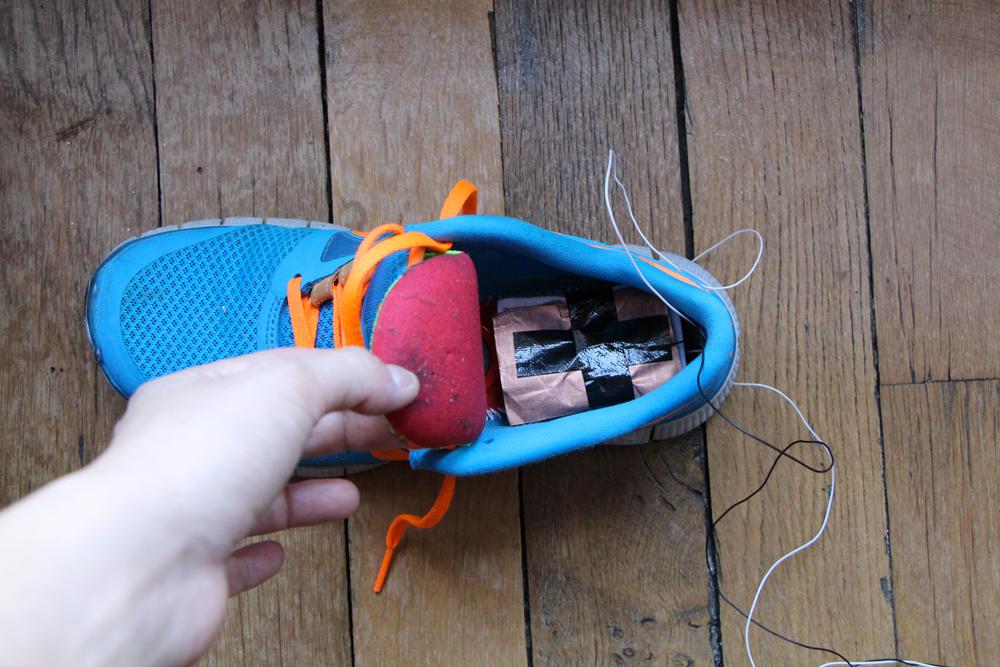 Margaux Salgado: Interactive Shoe