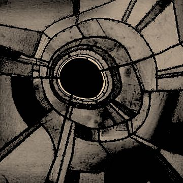 Trying to hypnotize Lee Bontecou