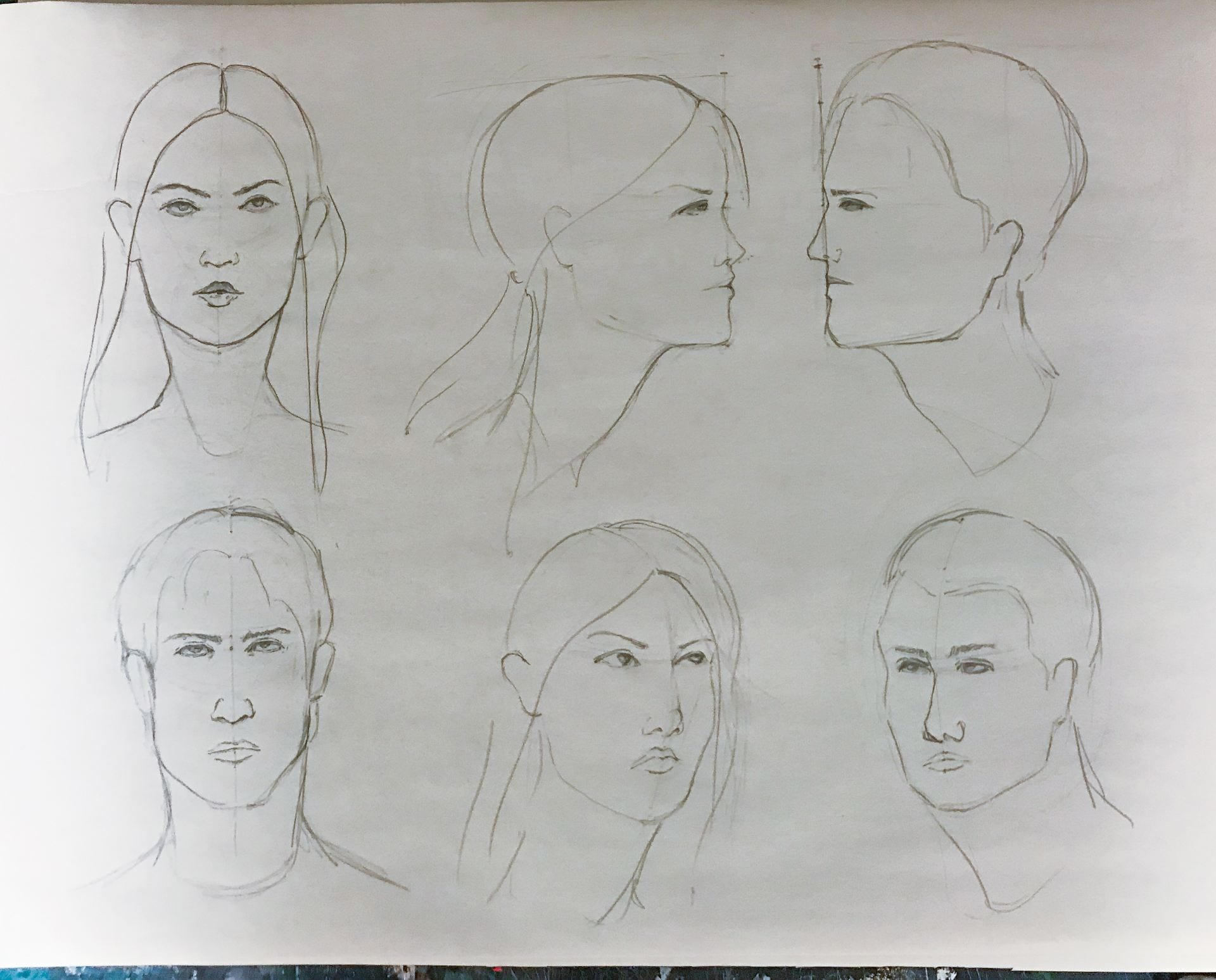 Portraits and Figures