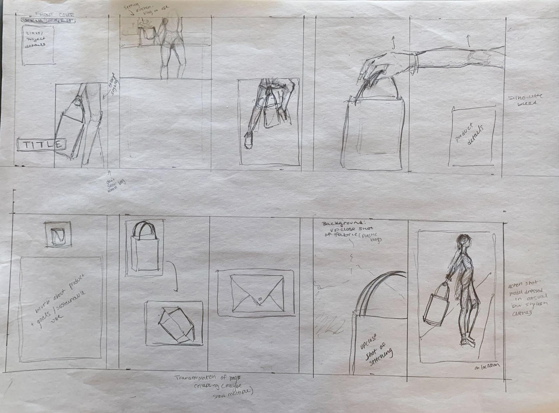 Catalog Storyboard