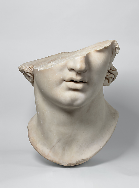 Inspiration: Fragmentary Colossal Head of a Youth