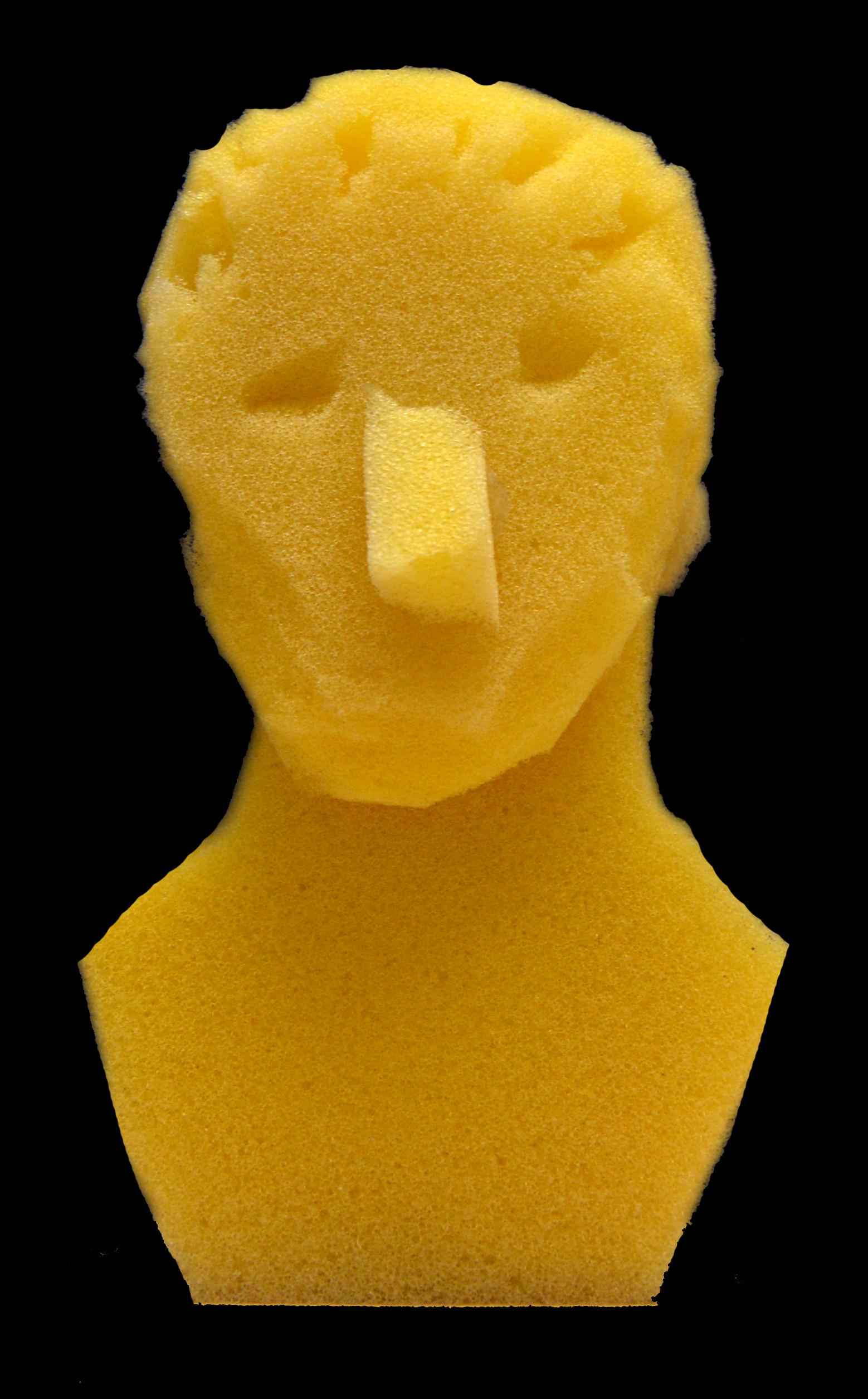 PROCESS: Sponge Head Maquette