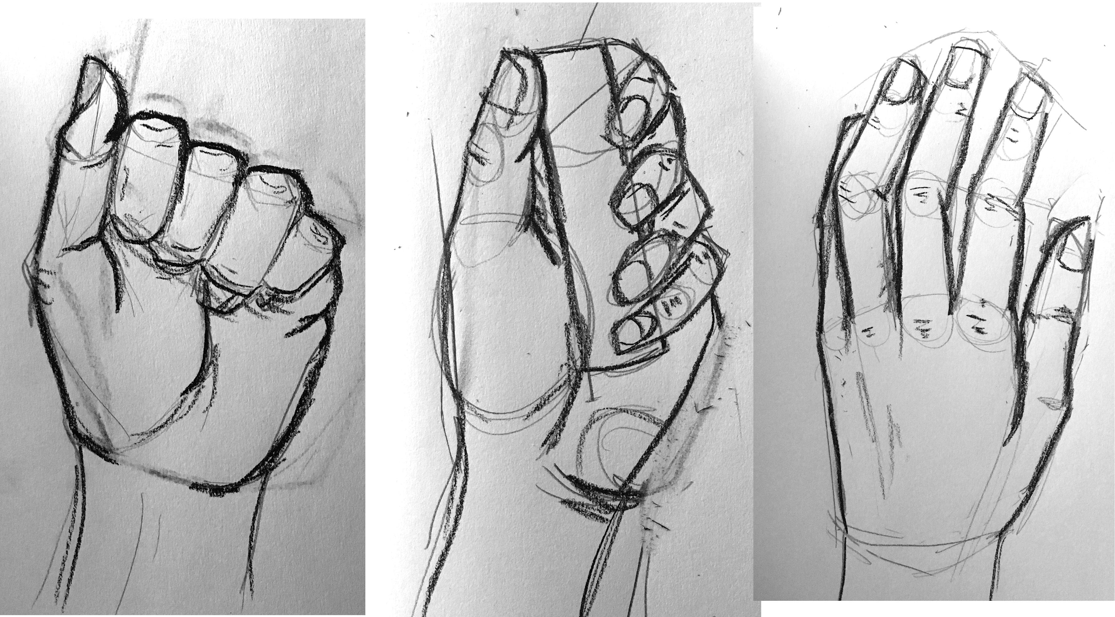 Hand Drawings (Practice)