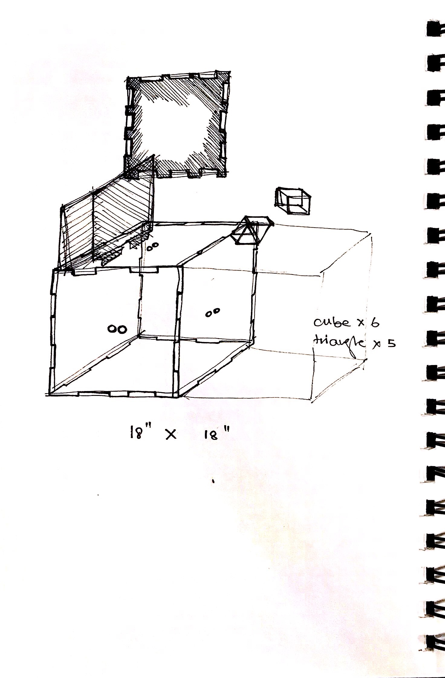 Final Project Collapsable Chair Sketches