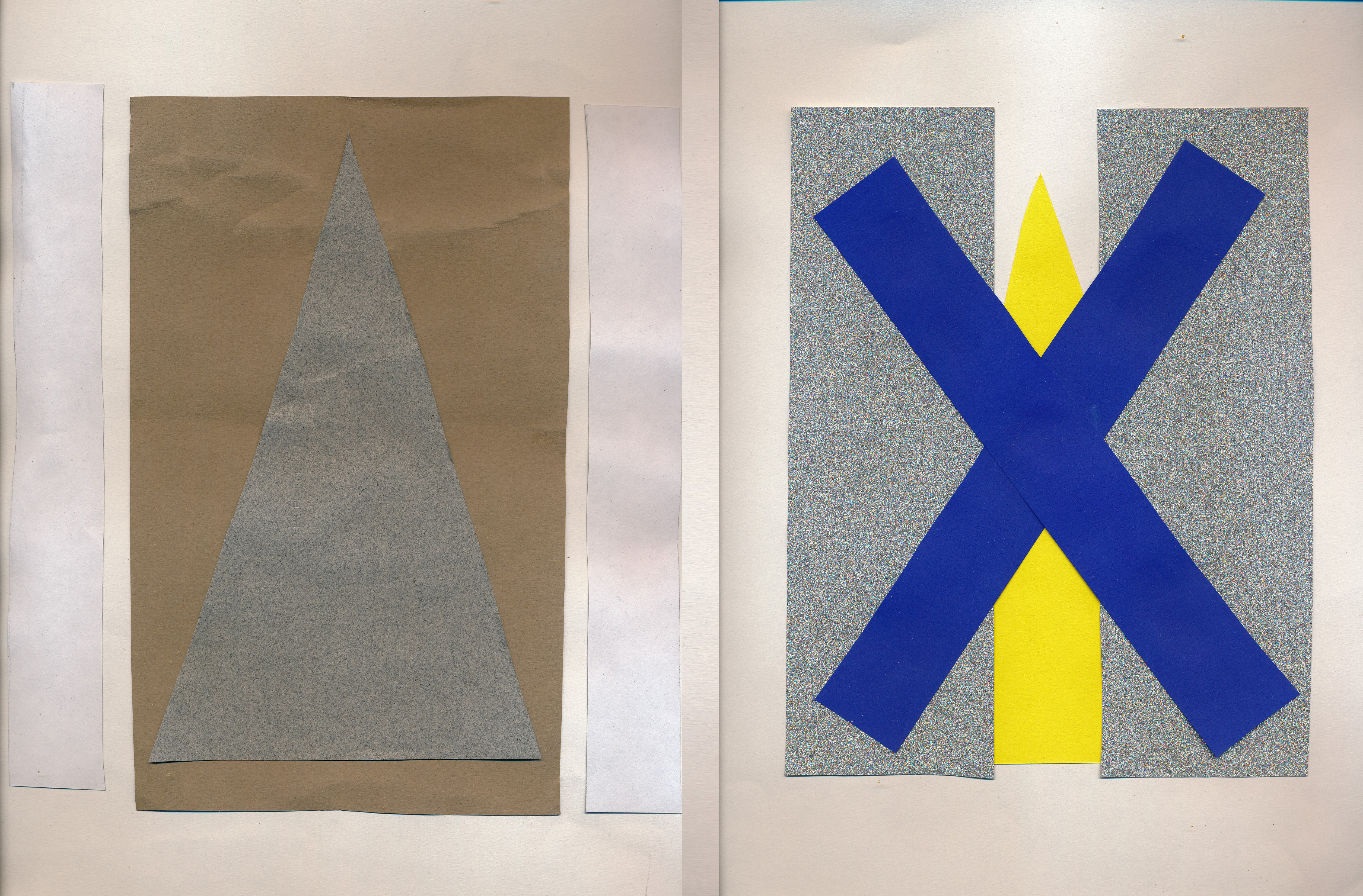 Drawing / Imaging – Language: Mark Making / Diptych / Process Statement