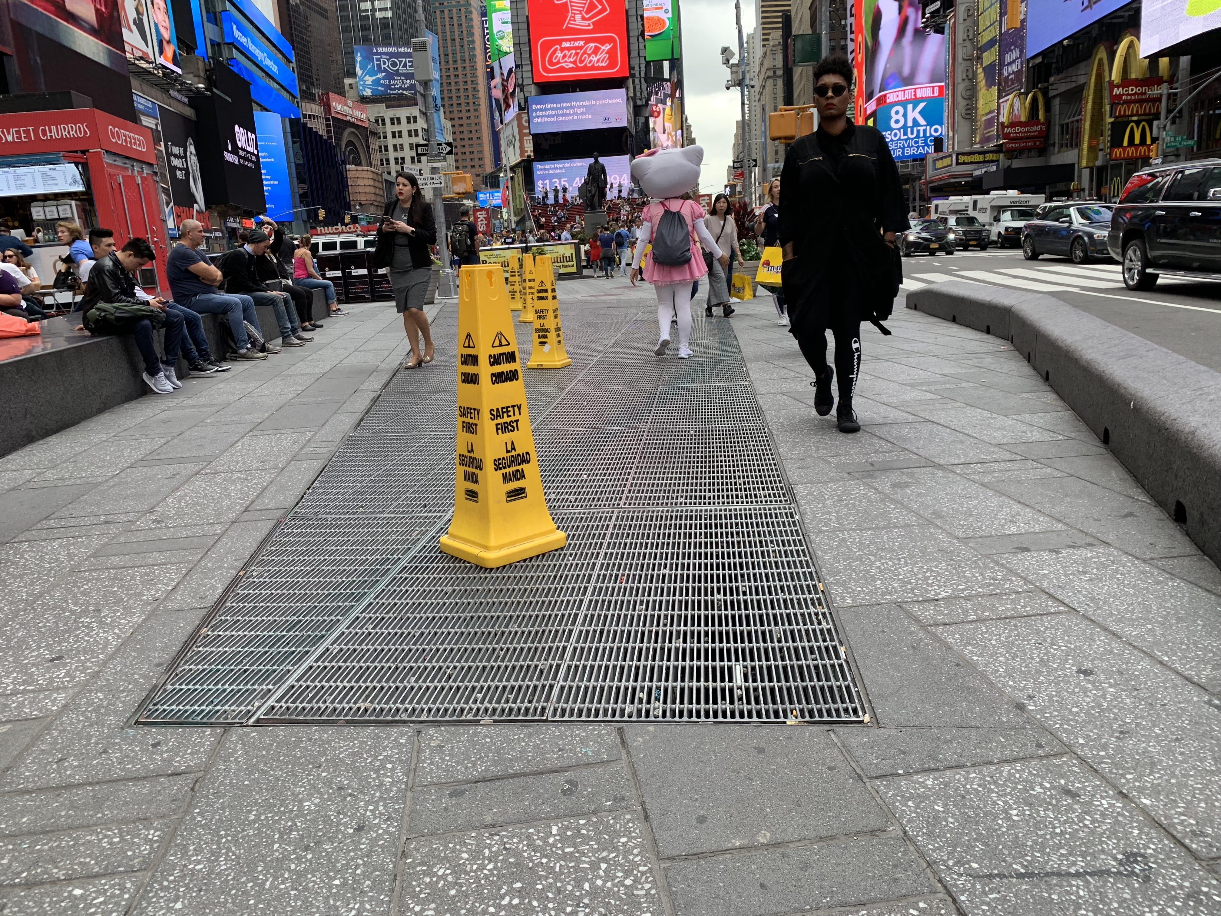 Max Nehaus Times Square