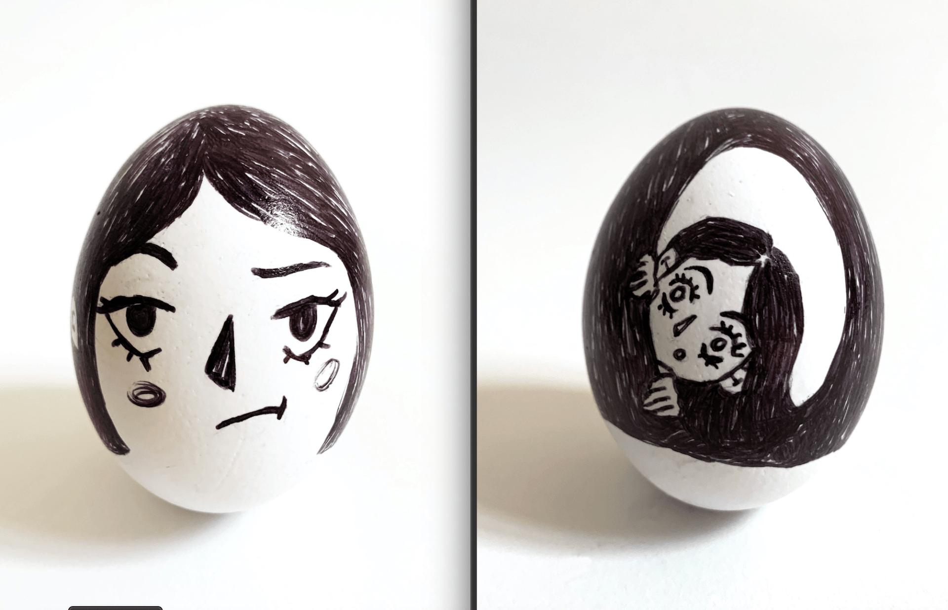 Core Studio 3D: Egghead Portrait