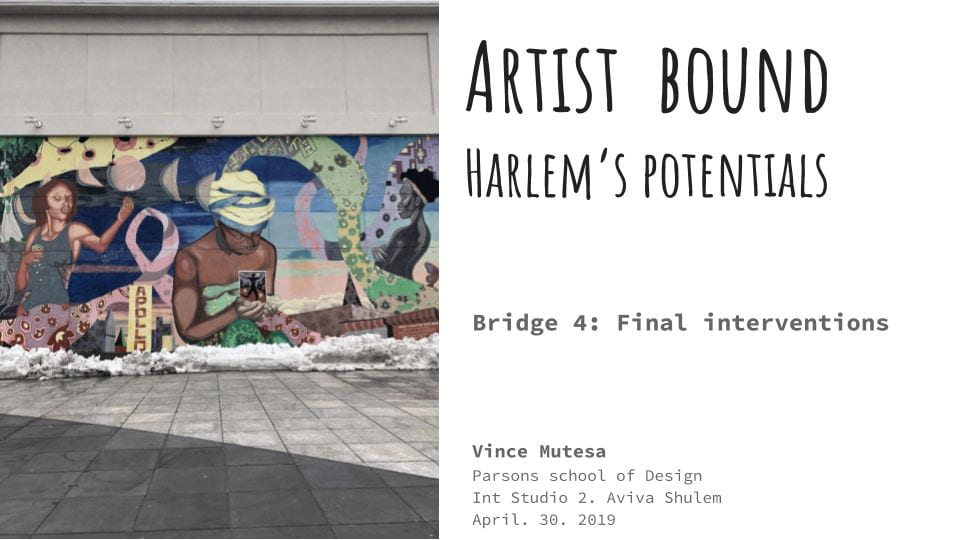 Bridge 4- Harlem's conversation