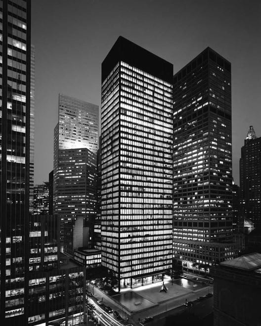(W 7) The Seagram building and it's discoveries