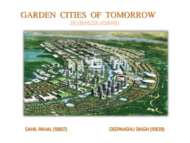 (W 6) Cities of tomorrow