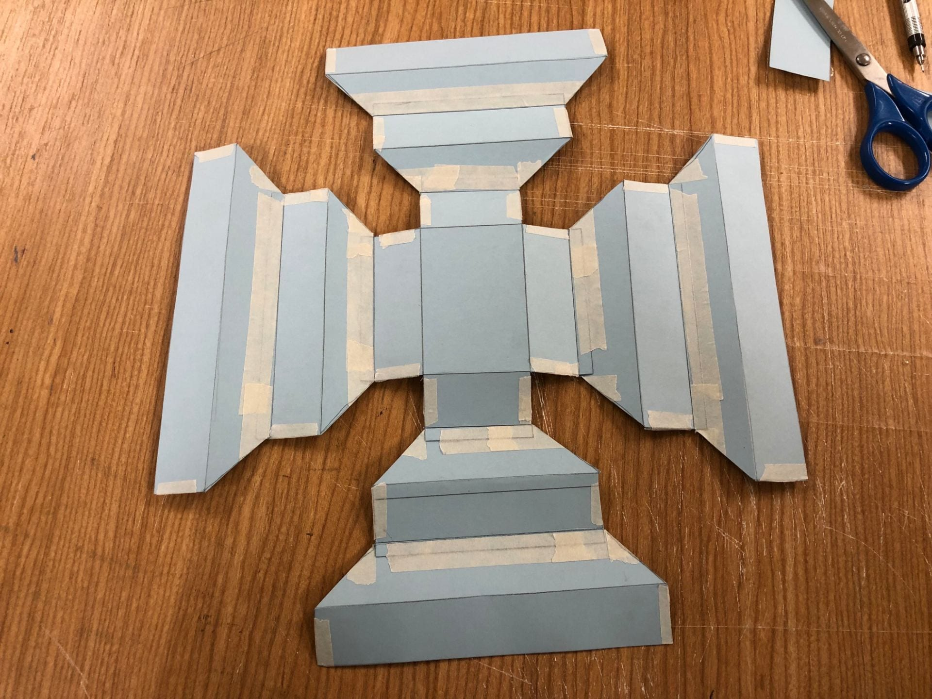 First Tower (pater + pattern)