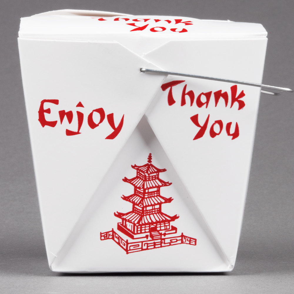 The Chinese Takeout Container | Clare Lagomarsino