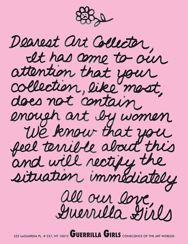 Advocacy in the Arts: The Guerrilla Girls