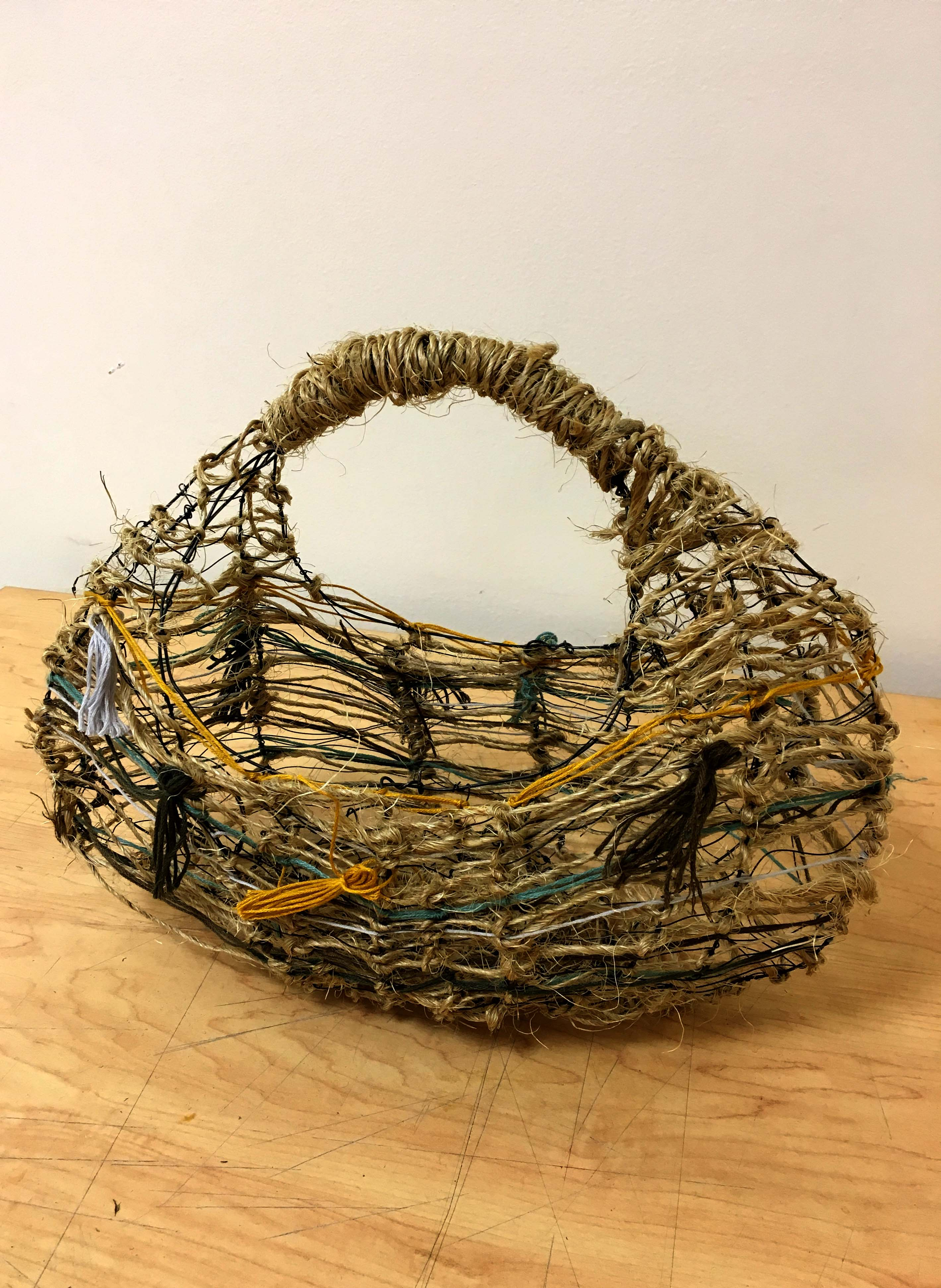 wire basket: mini projects Making Meaningful Things