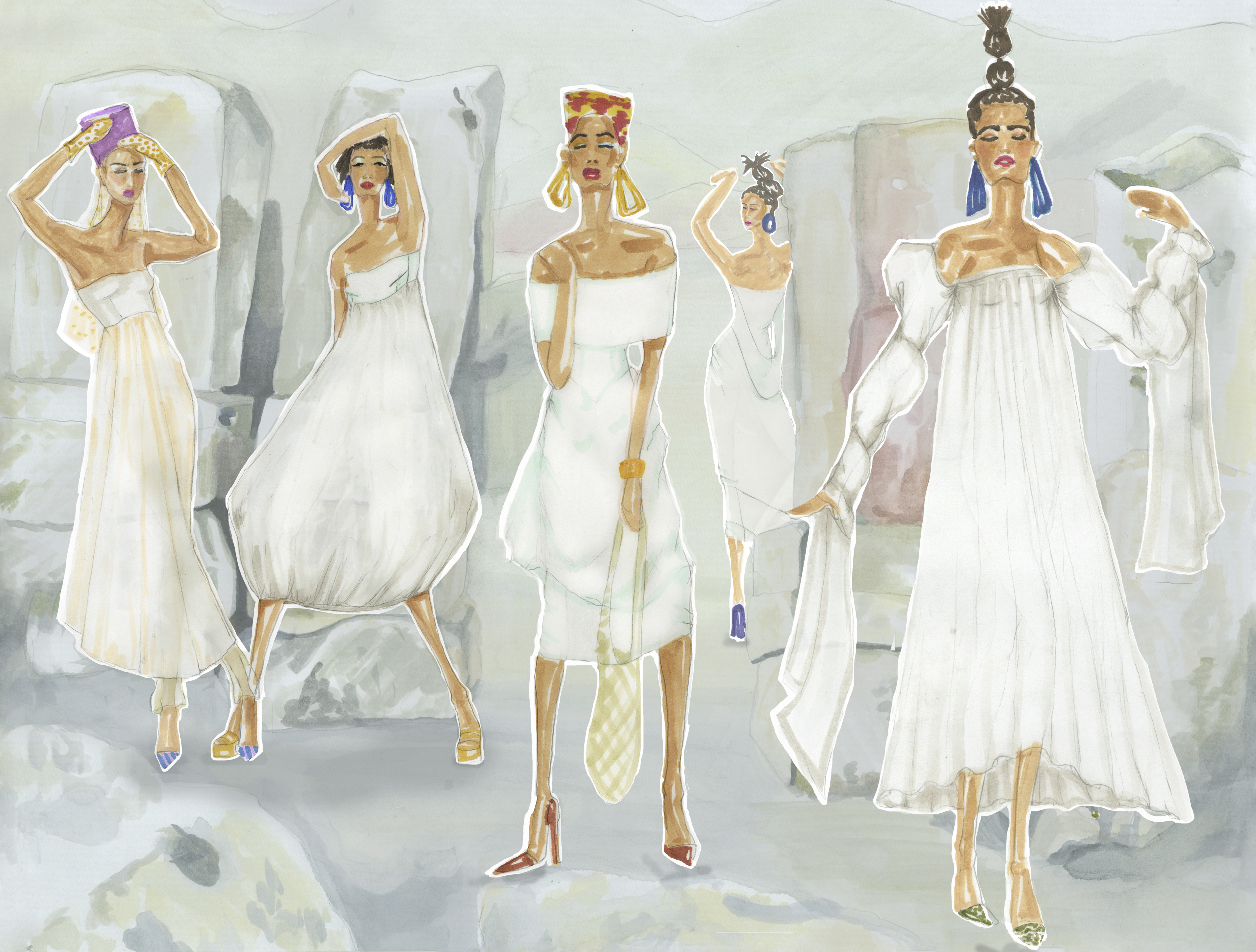 Cultural Project – Fashion Illustration