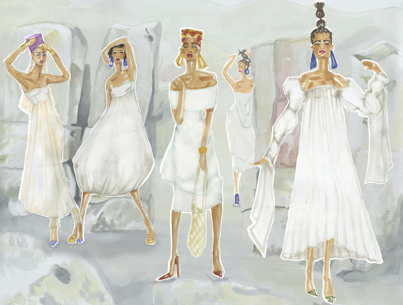 Cultural Project – Fashion Illustration