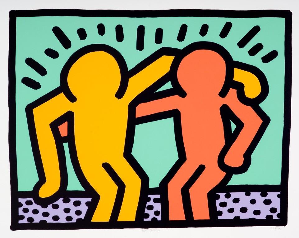 Keith Haring- Whimsical