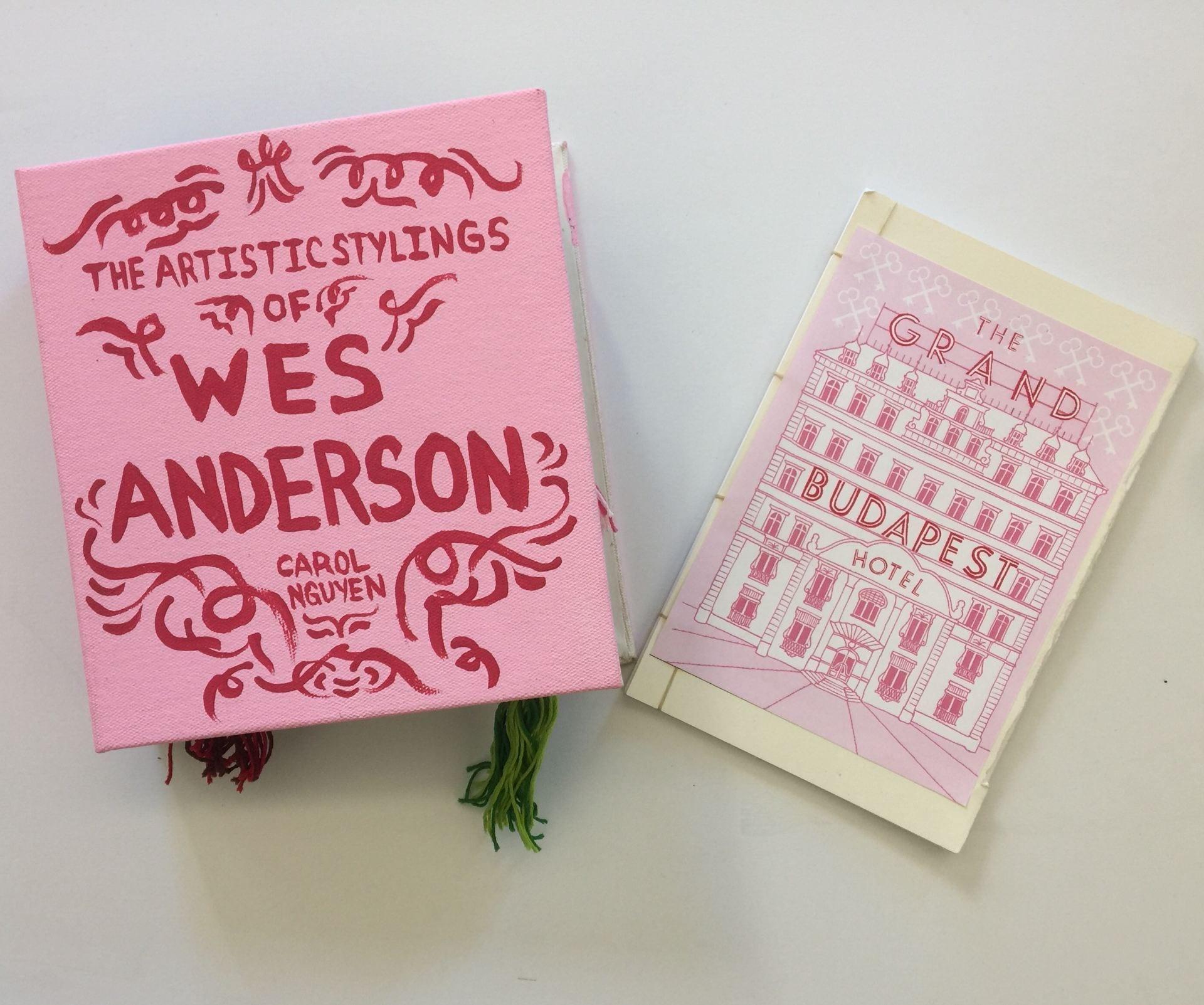 Wes Anderson Inspired Scrapbook/Fanzine