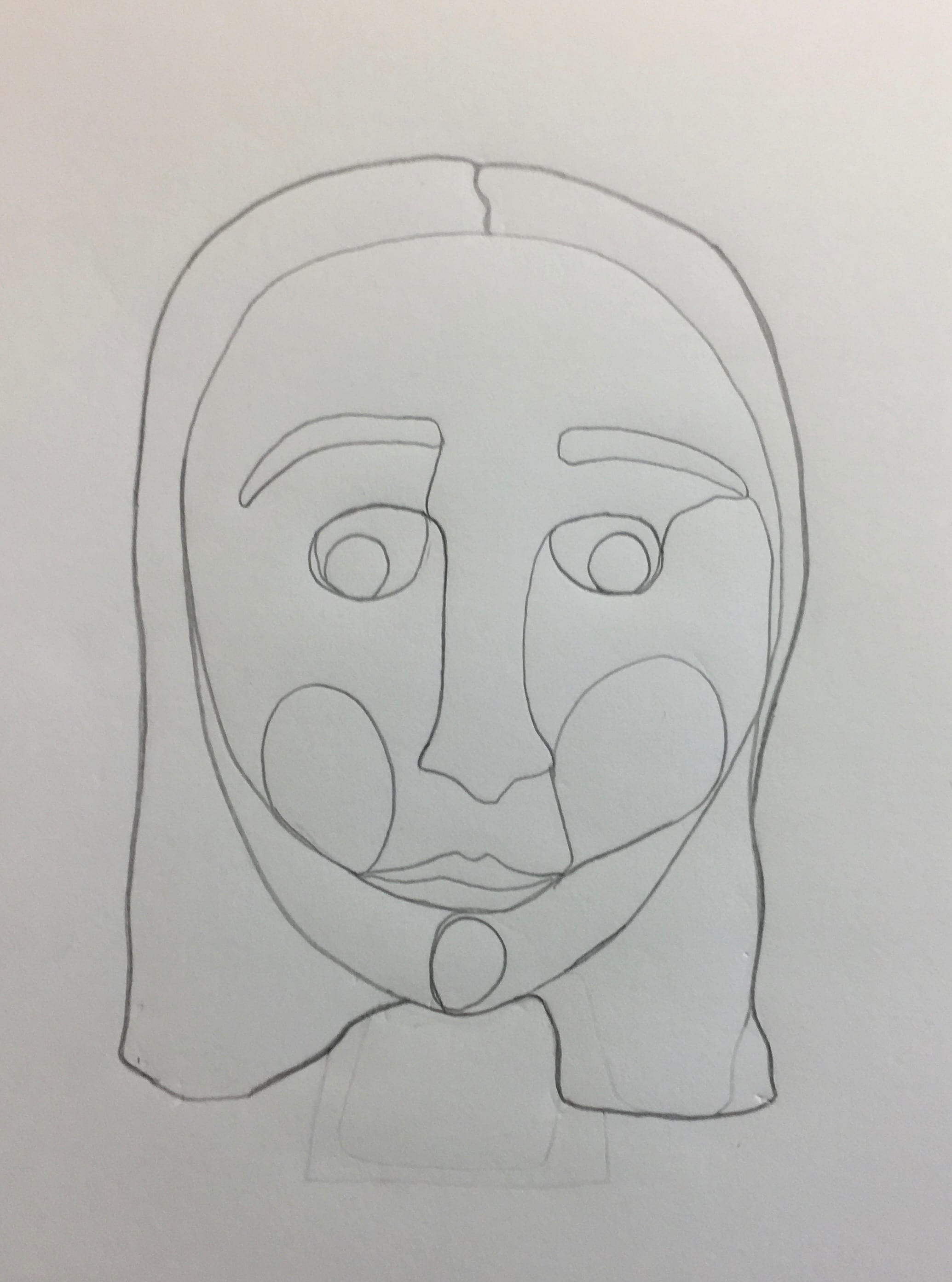 Assignment # 3 – Drawing contour lines with 3D materials