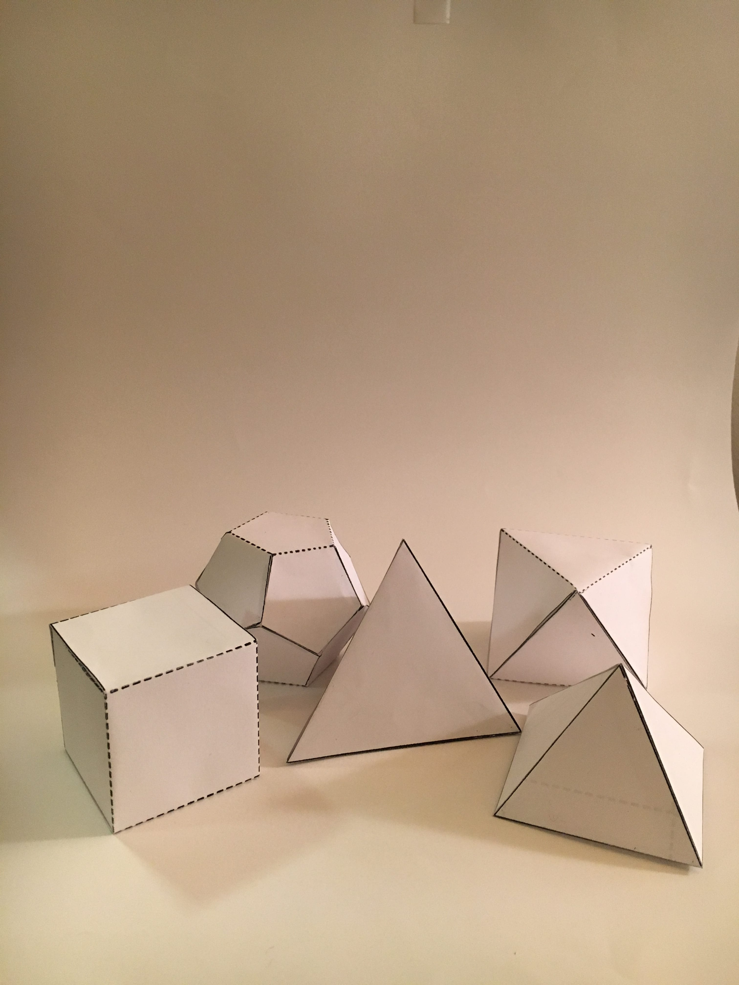 Assignment #5- 3D paper polyhedrons