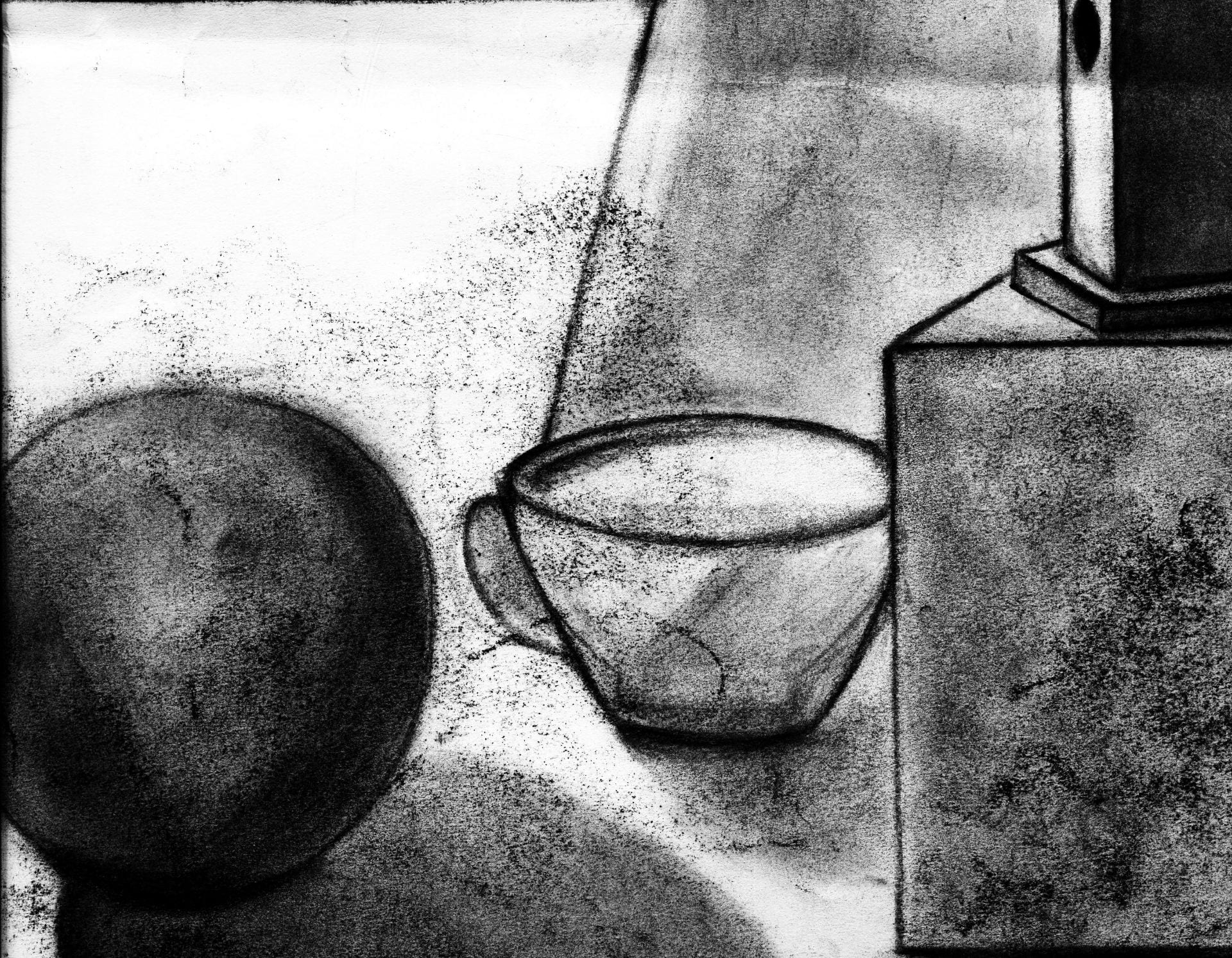 Charcoal: Drawing Objects