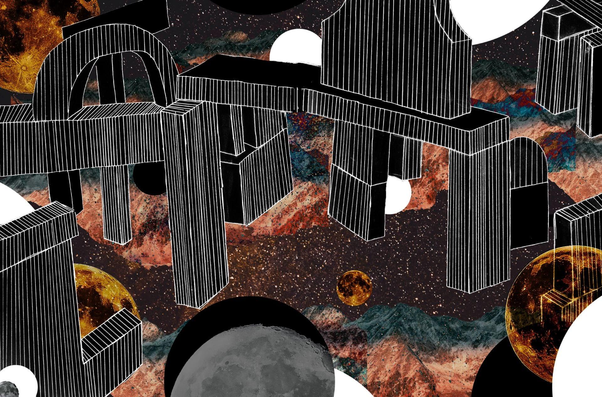 Building Block City Dreams – Photoshop