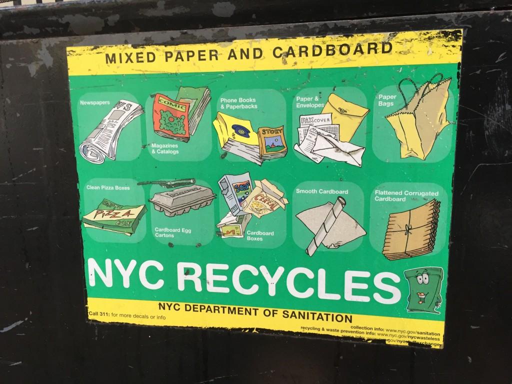Recycling Paper Bin