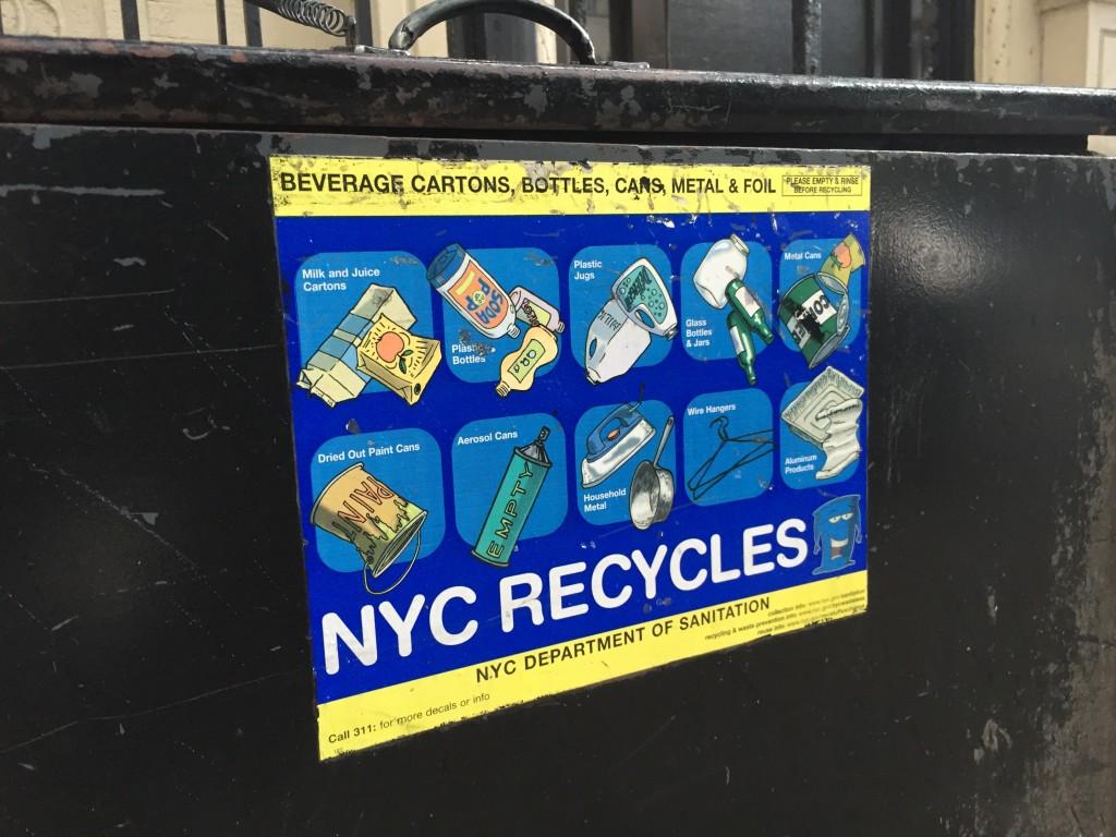 Recycling Plastics Bin