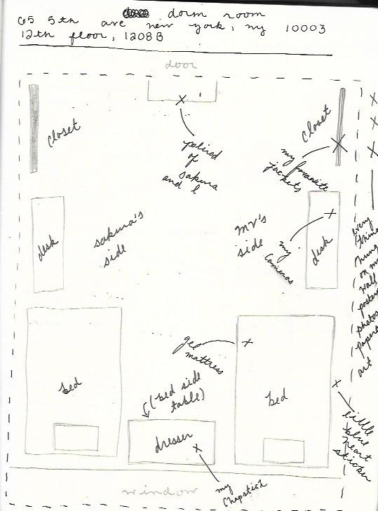 Deep Diagram of Bedrooms